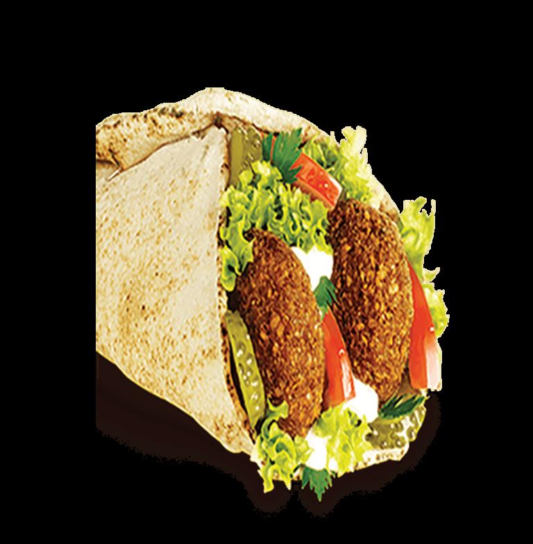 Falafel Sandwich -  Frisch