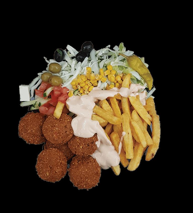 Falafel Teller - Frisch