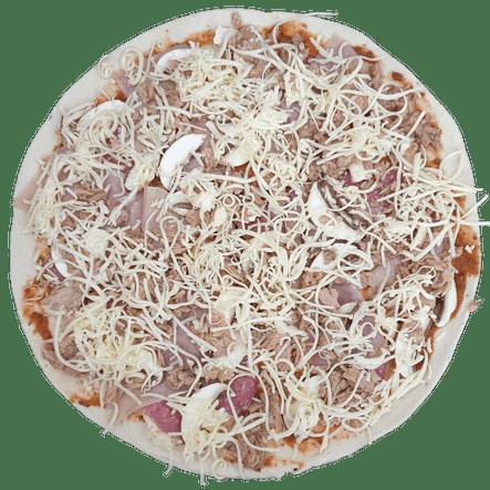07.   Pizza Capricciosa